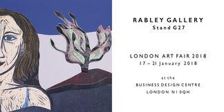 Rabley Contemporary  at London Art Fair 2018, installation view