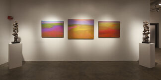 Herb Alpert and Richard Mayhew: Harmonic Rhythms, installation view