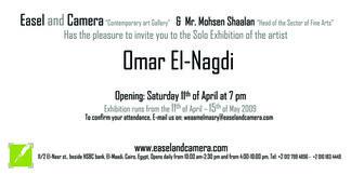 Omar El Nagdi, installation view
