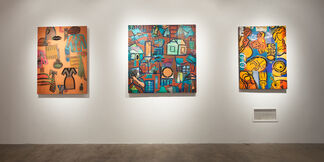 Michael Netter: Cryptographics, installation view