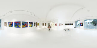 Lenz - Graffiti Is A Child's Play, installation view