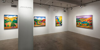Jack Stuppin: Homage to the Hudson River School, installation view