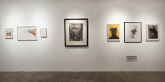 Paper Through the Ages: Drawings and Prints, installation view