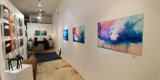Artist Trio Show, installation view