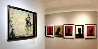 """Richard Hambleton  """"I Only Have Eyes For You"""", installation view"""