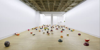 Assaf Gruber - Getting White Even Opinions, installation view