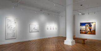 Mario Moore: Recovery, installation view