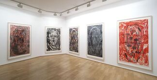 Montrouge Paintings, installation view