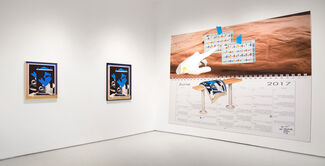 "Phil Chang, Laeh Glenn, John Houck, Ian James: ""Four Person Summer Group Show "", installation view"