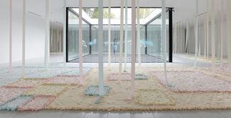 Karla Black, installation view