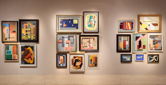 Painting in Italy 1910s-1950s: Futurism, Abstraction, Concrete Art, installation view