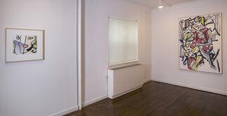 Roy Lichtenstein: Re-Figure, installation view