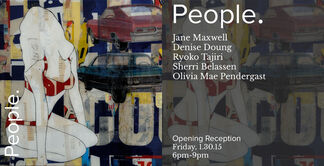 People, installation view