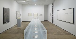 Anthony McCall: Notebooks & Duration Drawings, 1972-2013, installation view