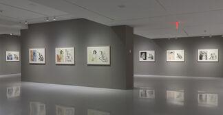 Georg Baselitz: Visit from Hokusai, installation view