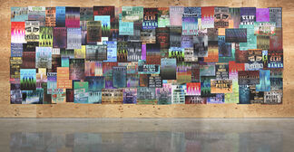 Gary Simmons: Fight Night, installation view