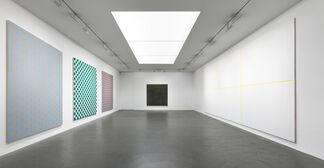 Accrochage 'Armleder, Condo, Dokoupil, Kropf, Mosset, Pancrazzi', installation view