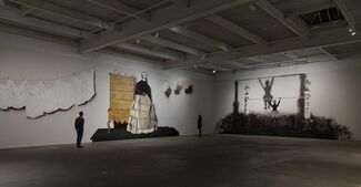 Mamma Andersson: Behind the Curtain, installation view