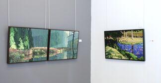 Clayton Anderson, installation view