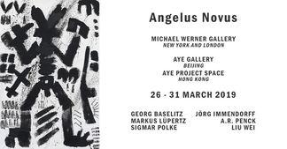 Angelus Novus, installation view