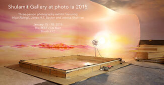 Shulamit Gallery at photo l.a. 2015, installation view