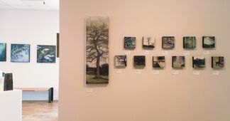 Silence Without Echo - Catherine Eaton Skinner -Encaustic Paintings, installation view