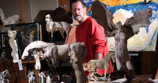"""A journey through the stars"" Carl Dahl & Jeff Bertoncino, installation view"