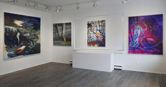 Deceptive Spaces, installation view