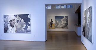 Hung Liu: American Exodus, installation view