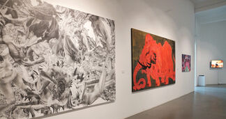 FURTHER TOWARDS THE FUTURE, installation view