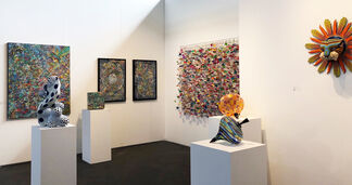 Duane Reed Gallery at Art Market San Francisco 2018, installation view