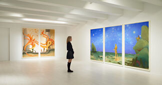 Inka Essenhigh: Comet Dust and Crystal Shards, installation view