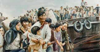 Tiffany Chung: Vietnam, Past Is Prologue, installation view
