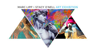 Marc Lipp + Stacy O'Nell Art Exhibition, installation view