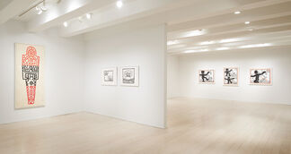 Keith Haring, installation view