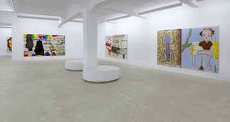 Rose Wylie - Picture on the wall..., installation view