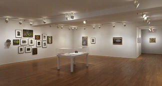 Rudy Burckhardt: Subterranean Monuments Photographs, Paintings and Films: A Centenary Celebration, installation view