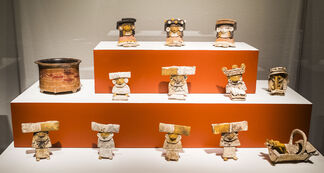 Teotihuacan: City of Water, City of Fire, installation view