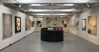 Beyond Words - Abstract Paintings by: Leslie Allen, Robert Chiarito, Tim Craighead, Chris Hayman & Allison Stewart, installation view
