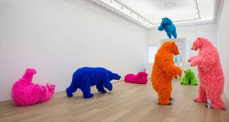 """Paola Pivi: """"Ok, you are better than me, so what?"""", installation view"""
