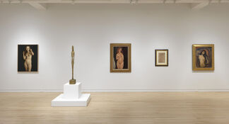 Nude: From Modigliani to Currin, installation view