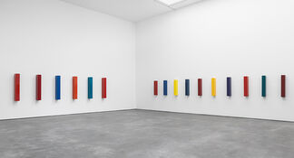 John McCracken, installation view