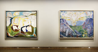 Jorn + Munch, installation view