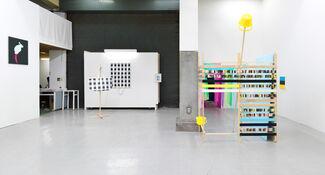 XYZ collective at NADA Miami 2013, installation view