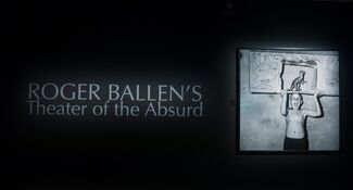 Roger Ballen´s Theater of the Absurd, installation view