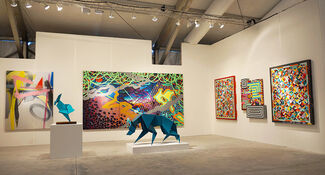 Library Street Collective at CONTEXT Art Miami 2013, installation view