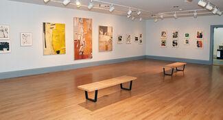 Richard Diebenkorn: Beginnings, 1942–1955, installation view
