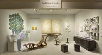 Todd Merrill Studio at Winter Antiques Show 2017, installation view