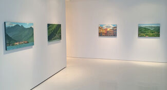 """""""Italia"""" Recent Paintings by Brad Marshall, installation view"""