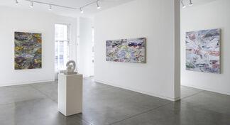 Palimpsest - Recent Paintings by Karl Klingbiel, installation view